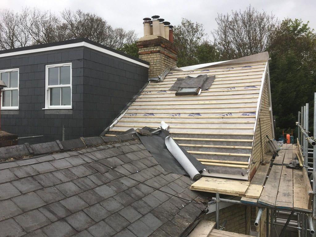 Loft Conversion New Roof