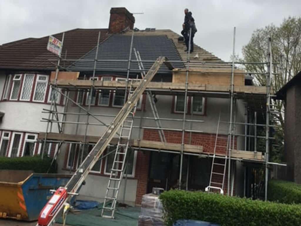 New Roof Rendering